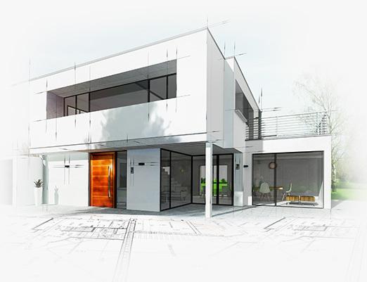 Création maison d'architecte
